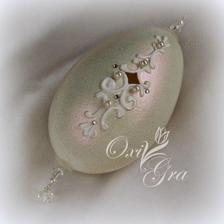 #OxiGra #eggs #handmade #painted #decorative #ornament #pisanki #reliefy #ornamenty