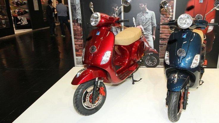 FÄLSCHER IMMER DREISTER Vespa-Kopie auf Motorradmesse entdeckt! Aber wie erkenne ich gefährliche Klon-Teile?
