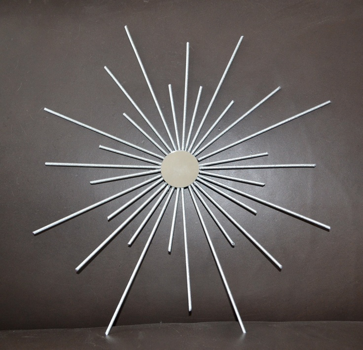 Retro Starburst Wall Decor : Best images about mid century wall art decor on