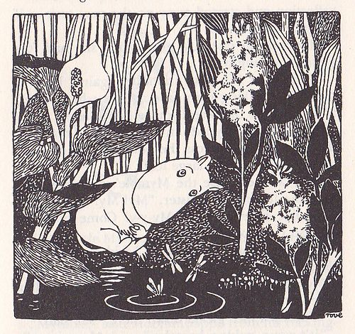 """All things are so very uncertain, and that's exactly what makes me feel so reassured."" --Tove Jansson, Moominland Midwinter"