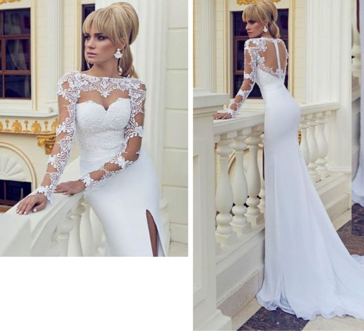 257 best Vintage Lace Wedding Dresses With Capped Sleeves images on ...