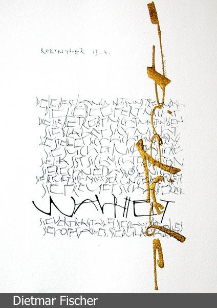 Dietmar Fischer | Calligraphy