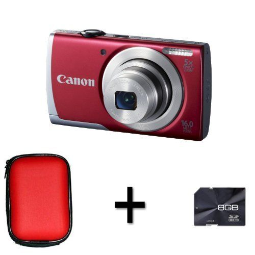 Canon PowerShot A2500 - Red + Case and 8GB Memory Card (16 MP,5x Optical Zoom)2.7 inch LCD by DiscountedDigital, http://www.amazon.co.uk/dp/B00B9A96V4/ref=cm_sw_r_pi_dp_BR6Nsb1MACAG9