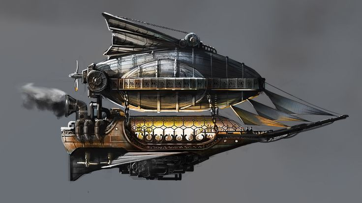 Bruce Boxleitner's LANTERN CITY - The #airships, owned & operated by the ruling class, fly throughout the skies of #LanternCity. #steampunk
