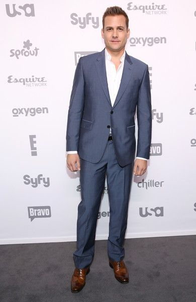 Gabriel Macht Photos - Actor Gabriel Macht attends the 2015 NBCUniversal Cable Entertainment Upfront at The Jacob K. Javits Convention Center on May 14, 2015 in New York City. - 2015 NBCUniversal Cable Entertainment Upfront