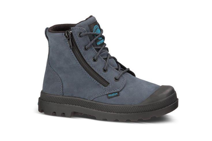 Musthave Palladium Pampa Hi Lea Gusset (Blauw) Sneakers van het merk Palladium voor Heren. Uitgevoerd in Blauw gemaakt van Leer. Nu verkrijgbaar voor 59.00 bij Sneakershop.