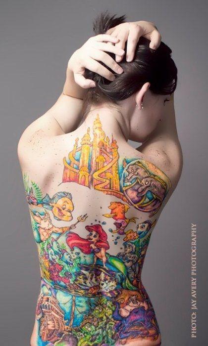 Magical Disney Tattoo