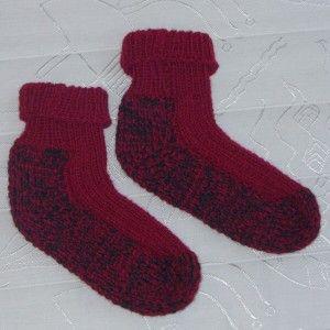 Pletení ponožek na dvou jehlicich spletanim