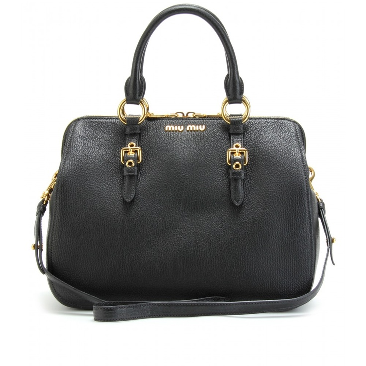 Love this perfect for Fall TEXTURED LEATHER TOTE  seen @ www.mytheresa.com.