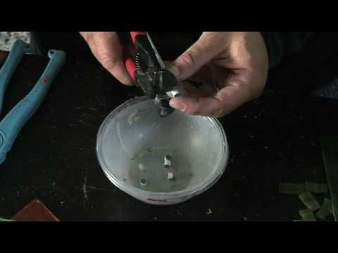 Mosaic Video Tutorial  teaching glass on glass mosaics for beginners