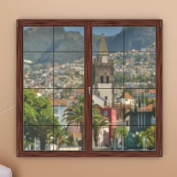 Windows Of Portugal - Day 9 | 9/12/2015 Madeira, getting ready for the celebrations of Christmas and New Year, is today's Advent Calendar window view: http://bit.ly/1B7yOiE. 16 more days to Christmas! smile emoticon #WindowsOfPortugal