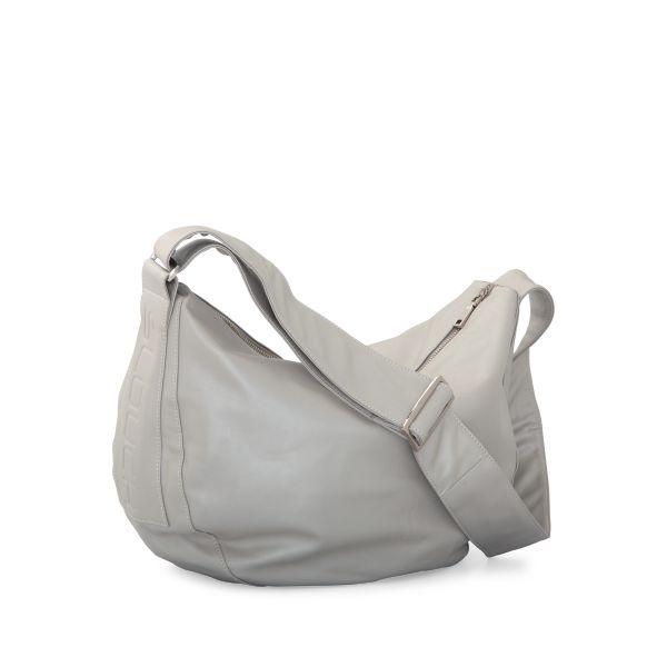 Slouchbag Zurich Silver   Krinkle Homewares & Gifts