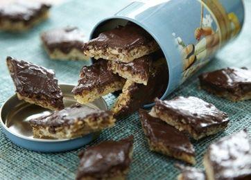 Få opskriften på småkager med chokolade med Familie Journal