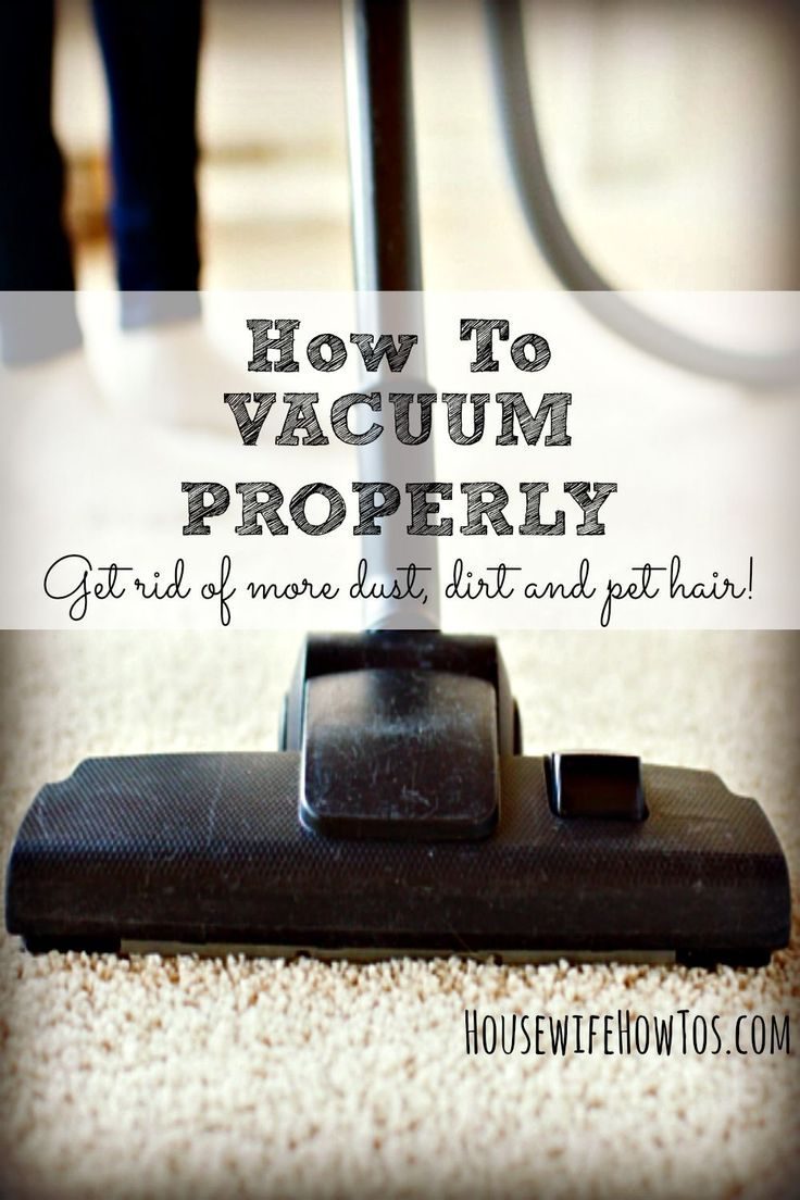 Until we bought our home, I had no idea I was vacuuming all wrong. Find out the embarrassing way I learned that I didn't know how to vacuum properly, and what I learned about doing it right.