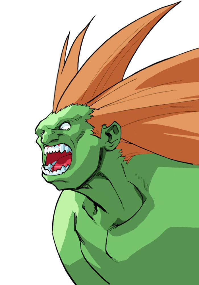 Blanka - Street Fighter Alpha 3