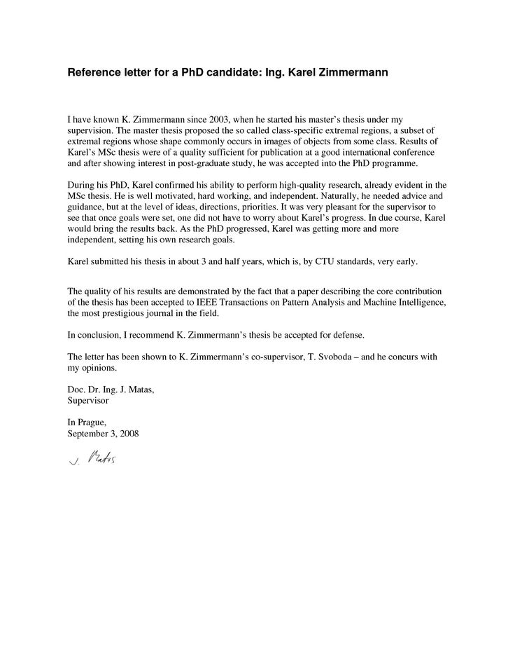 50 Letter for Graduate School From Employer