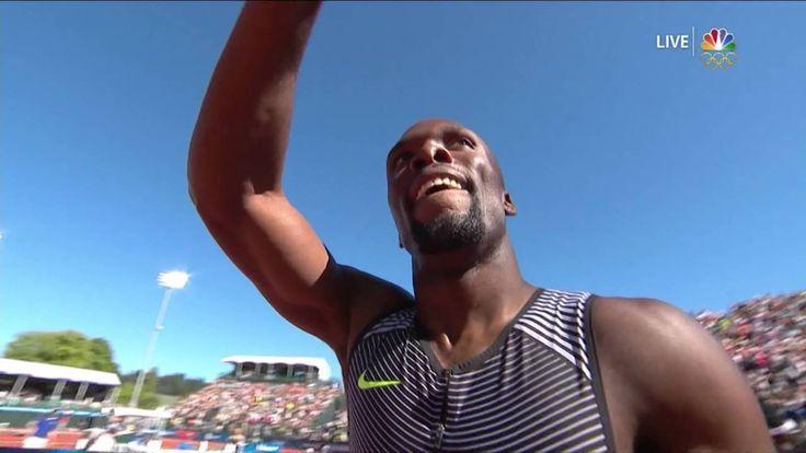 Olympic Track And Field Trials   LaShawn Merritt Wins 400m Final In 43.97