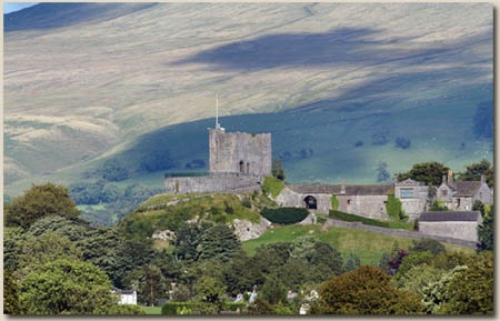 Clitheroe Castle--Clitheroe, England, my favorite place to visit...