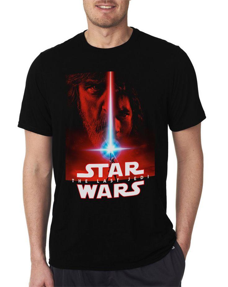 #starwars  The Last Jedi Lightsaber Black T Shirts #jedi
