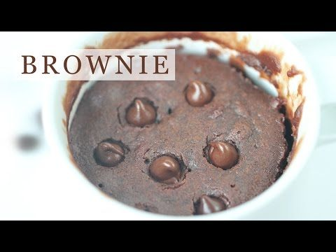 Perfect Brownie in Mug - 5-Ingredient Microwave Recipe - Eugenie Kitchen