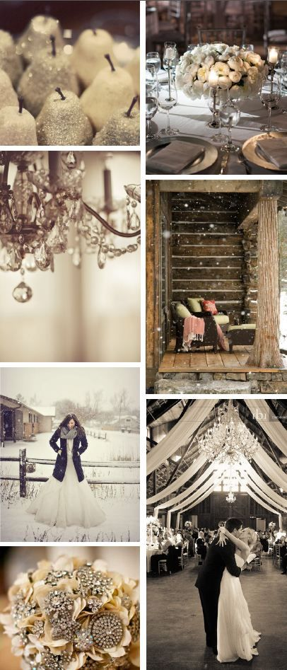 exactly what I want.. except maybe not in a barn ;) I love the winter.. the draping the colors everything... So pretty :)