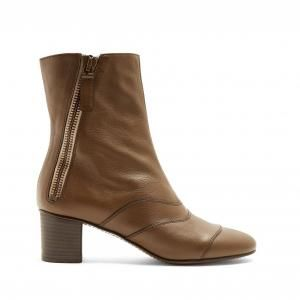 Chloe Brown Lexie Ankle Boots - 40% Off