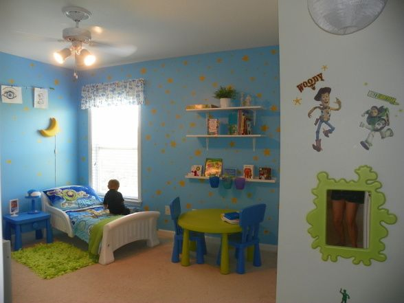 My Sons Toy Story Inspired Room Boys Room Designs Decorating