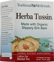 END PRODUCT: Herba Tussin teaHerba Tussin, Tussin Teas, Herbal Teas, Slippery Elm