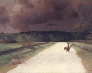 """""""Before the Storm"""" - Homer Watson"""