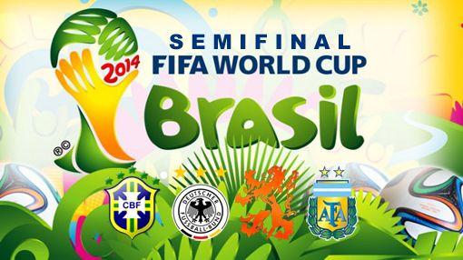 Ulasan Tim Terbaik di Semifinal Piala Dunia 2014