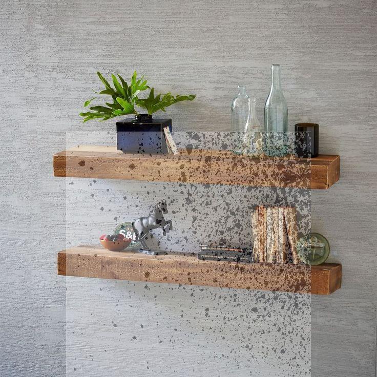 4 Wonderful Unique Ideas: Floating Shelves Above C…