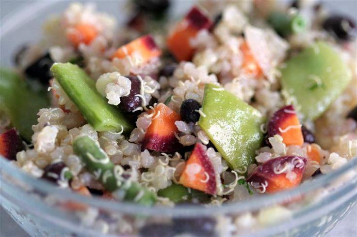 Summer Quinoa Salad: Food Recipes, Black Beans, Salad Recipes, Salad Medium, Quinoa Salad, Beans Quinoa, Healthy Food, Recipes Salad, Beans Summer