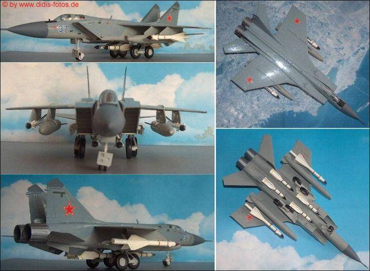Mikojan-Gurewitsch MiG-31 (Foxhound) Höhen-Abfangjäger (Revell 4377) 1:72