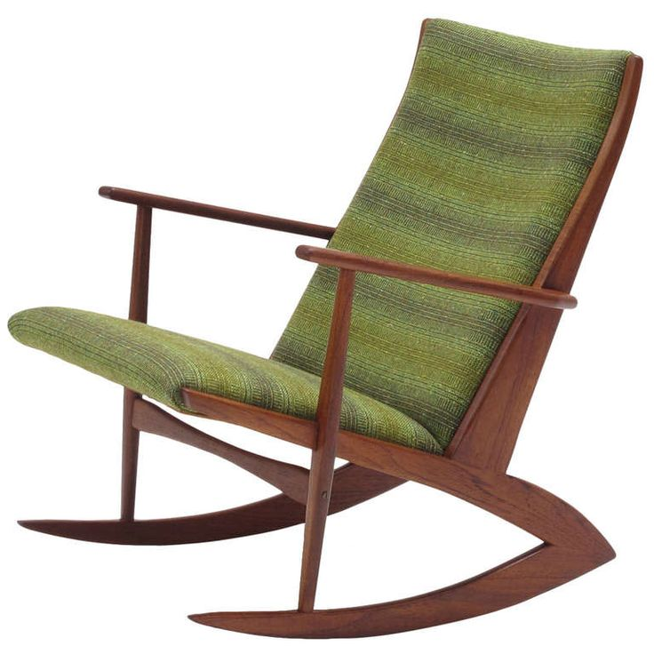 Danish Rocking Chair by Soren Georg Jensen | From a unique collection of antique and modern rocking chairs at http://www.1stdibs.com/furniture/seating/rocking-chairs/