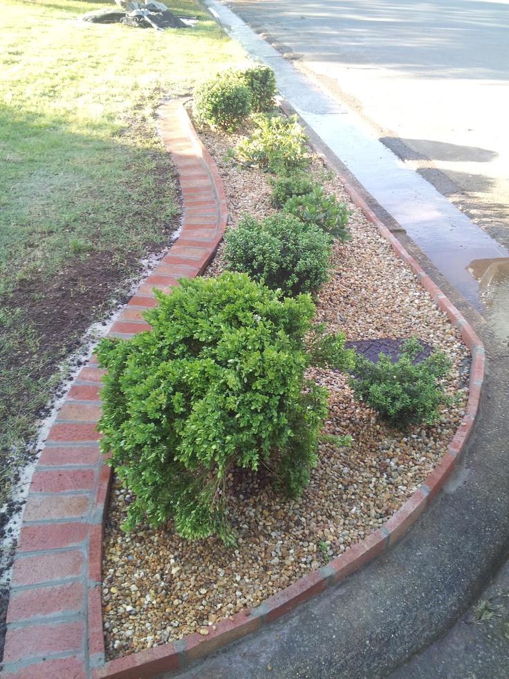 31 best images about landscape edging ideas on pinterest for Homemade garden edging ideas