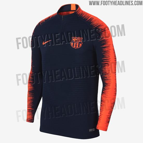 82b710d53 Look At World Cup Template - Nike Barcelona 2018 Training Collection  Released - Footy Headlines