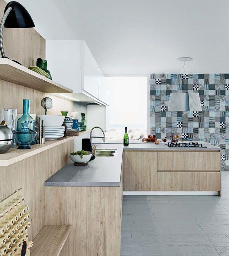 Perché la #cucina è uno degli ambienti più importanti della nostra casa..Siete d'accordo?  Elegante, bella e soprattutto funzionale, ecco Mila di Cesar Cucine & Living! #MilaCesar #Cesar #ValentiniArredamenti