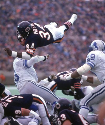Walter Payton, Sweetness!!! The best RB in NFL history.