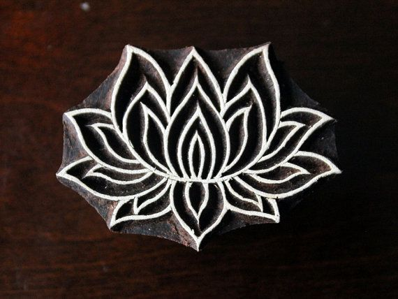 Check out this item in my Etsy shop https://www.etsy.com/listing/248669820/textile-stamp-pottery-stamp-indian-wood