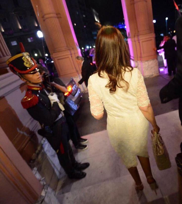La última foto de Cristina Kirchner como Presidenta | ElDoce.tv