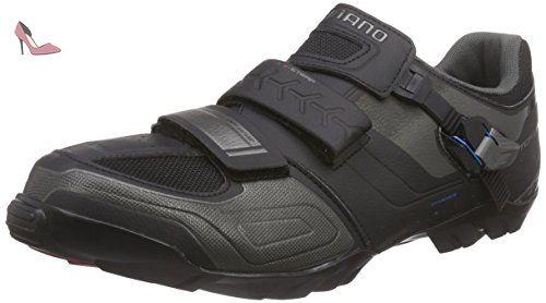 Shimano Shm089g490l, chaussures de cyclisme sur route mixte adulte, Noir (Black), 49 EU - Chaussures shimano (*Partner-Link)