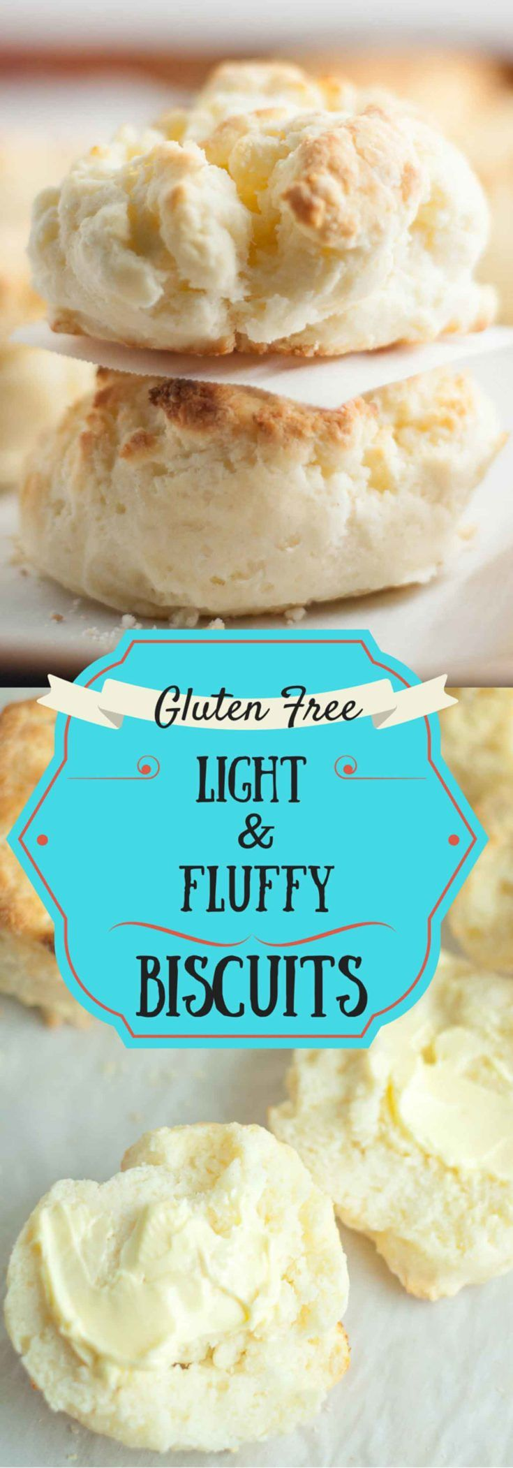 These Light and Fluffy Gluten Free biscuits are so good, no one will ever know the difference. Plus these drop biscuits are so easy and quick to throw together!