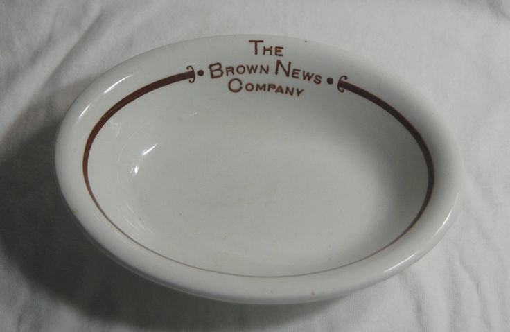 "Circa 1900 ""The Brown News Company"" Top Logo China Southern Pacific Railroad 