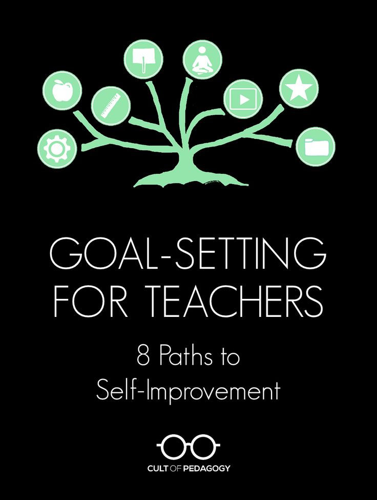 Goal Setting For Teachers: 8 Paths To Self Improvement via Cult Pedagogy