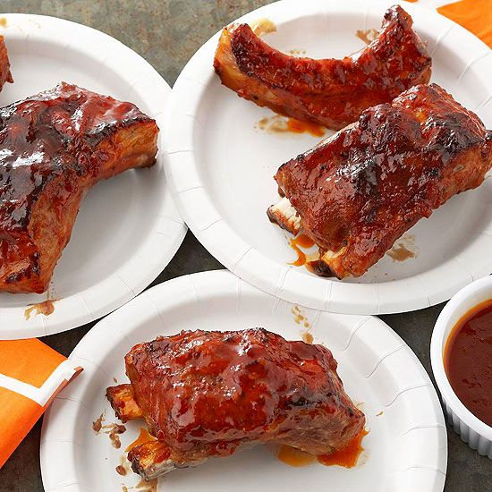 Sweet apricots temper smoky chipotle peppers to give these ribs serious layered flavor that's not for the faint of heart.
