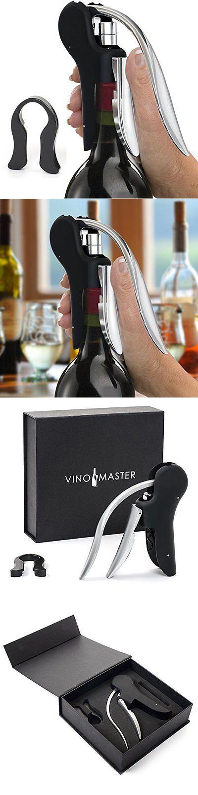 Corkscrews and Openers 20688: Vinomaster Wine Bottle Lever Screwpull Opener Gift Set - Best Rabbit-Style Corks -> BUY IT NOW ONLY: $80.15 on eBay!