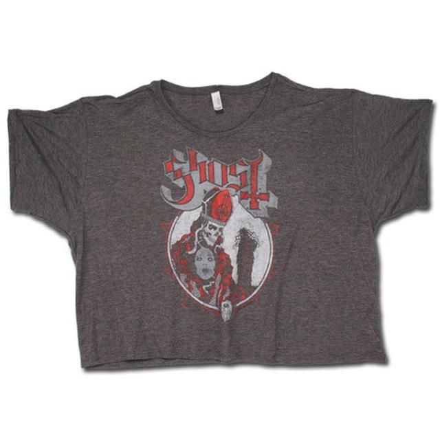Check out Ghost POSSESSION GIRLS CROP TOP T-SHIRT on @Merchbar.