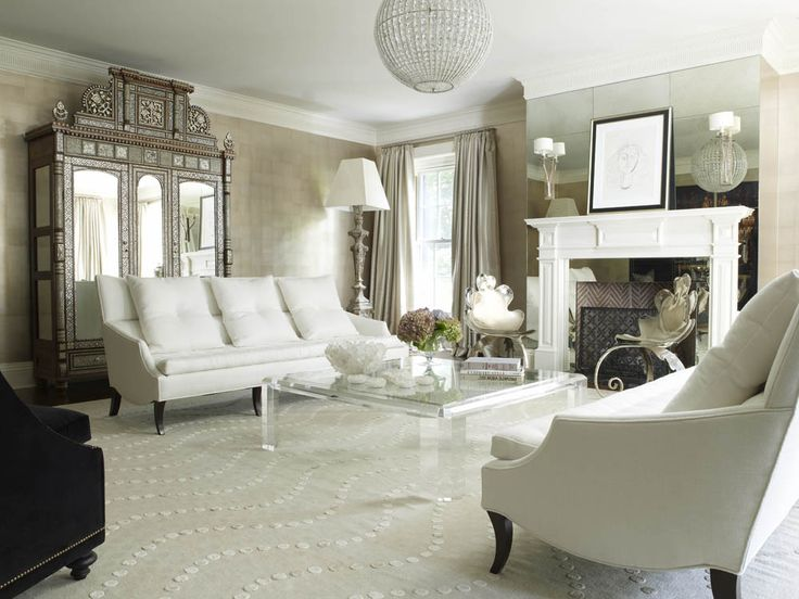 Best Living Room Lucite Coffee Table Antique Armoire White Furniture Lynne Scalo Design Home 640 x 480