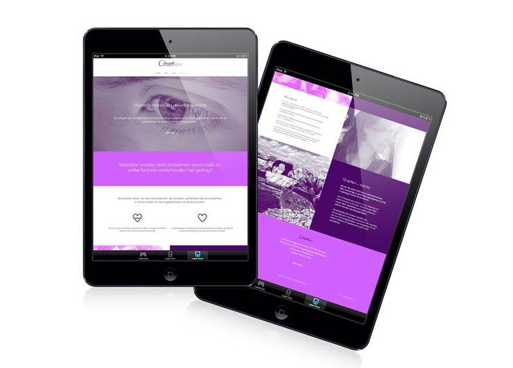 responsive html website www.gharfien.nl see more in my portfolio