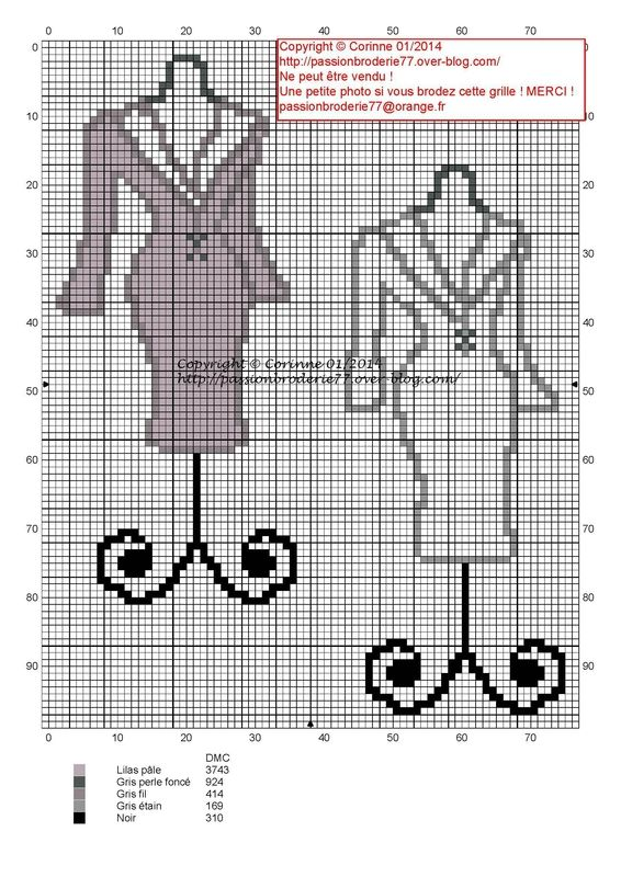 couturière - dressmaker - mannequin - point de croix - cross stitch - Blog : http://broderiemimie44.canalblog.com/